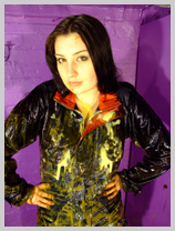 Veronica in clothes-filling fun! featuring Veronica Ravenblack, International adventurer
